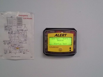 Alert beacons throughout campus keep classrooms connected