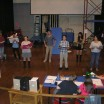 Students rehearse for Rent