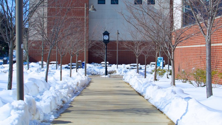 Heavy, unpredictable snowfalls caused NCC to cancel its spring break