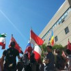 Raising their countries flags proudly, celebrating diversity at NCC