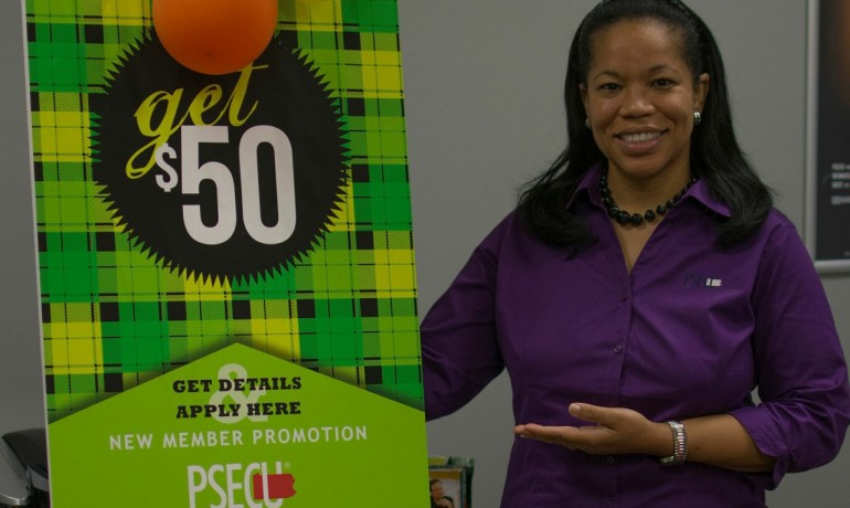 Candice Richards of PSECU is dedicated to helping NCC students achieve greatness.